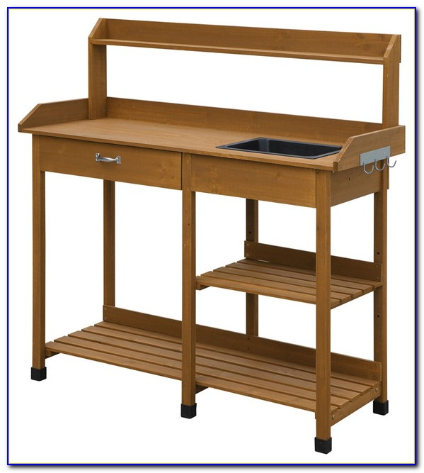 Amazon Potting Bench With Storage