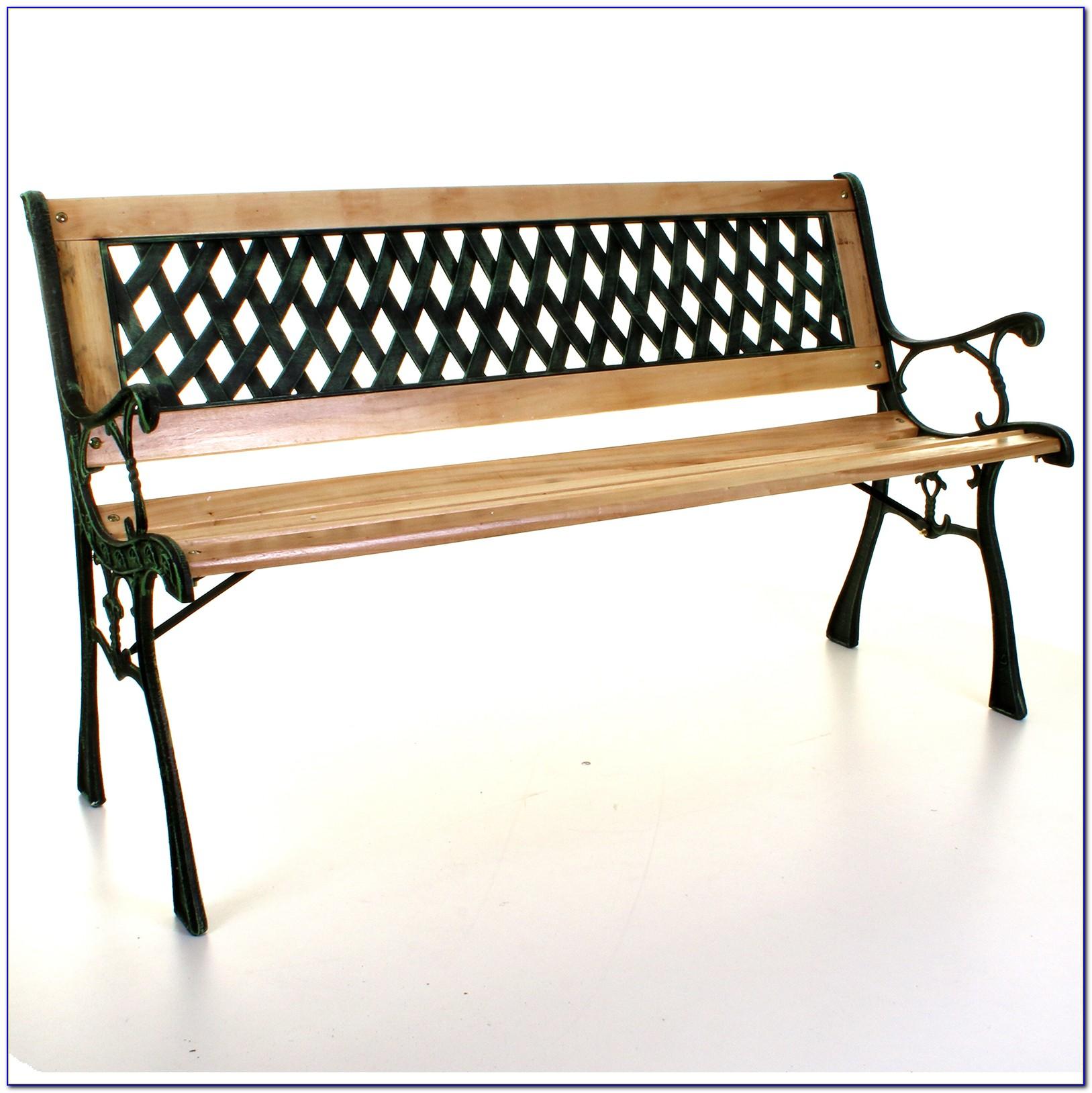 Antique Cast Iron Bench Legs