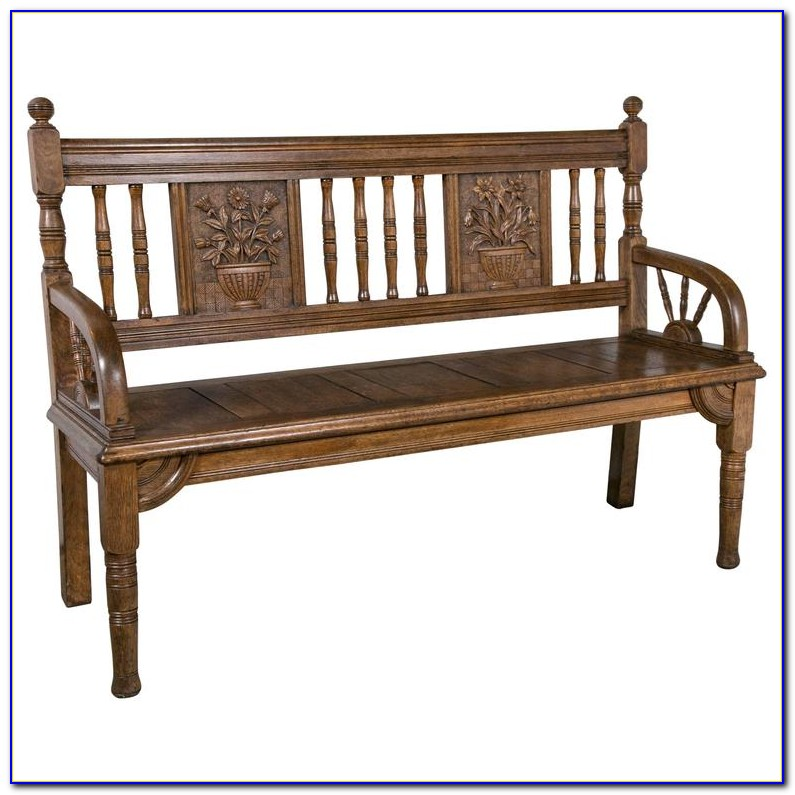 Arts And Crafts Entryway Bench