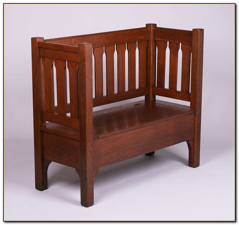 Arts And Crafts Outdoor Bench
