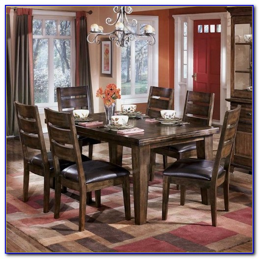 Ashley Furniture Dining Set With Bench