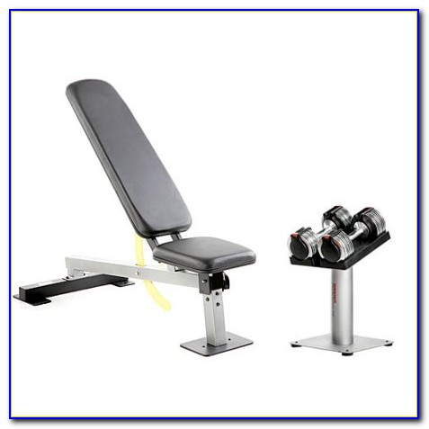 Bench And Dumbbell Set