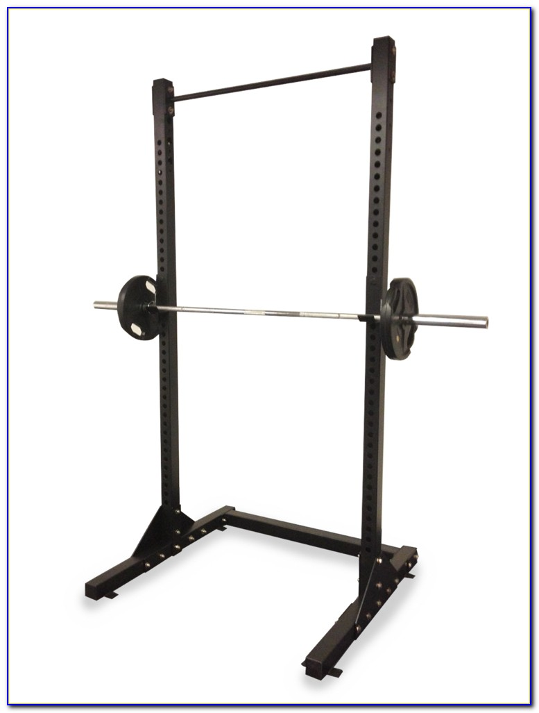 Bench Press Squat Rack Combination