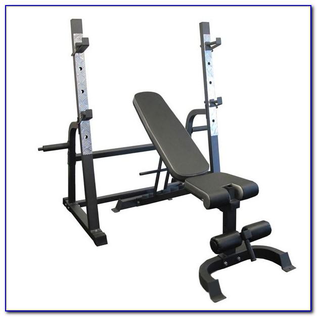 Bench Press Squat Rack Combo