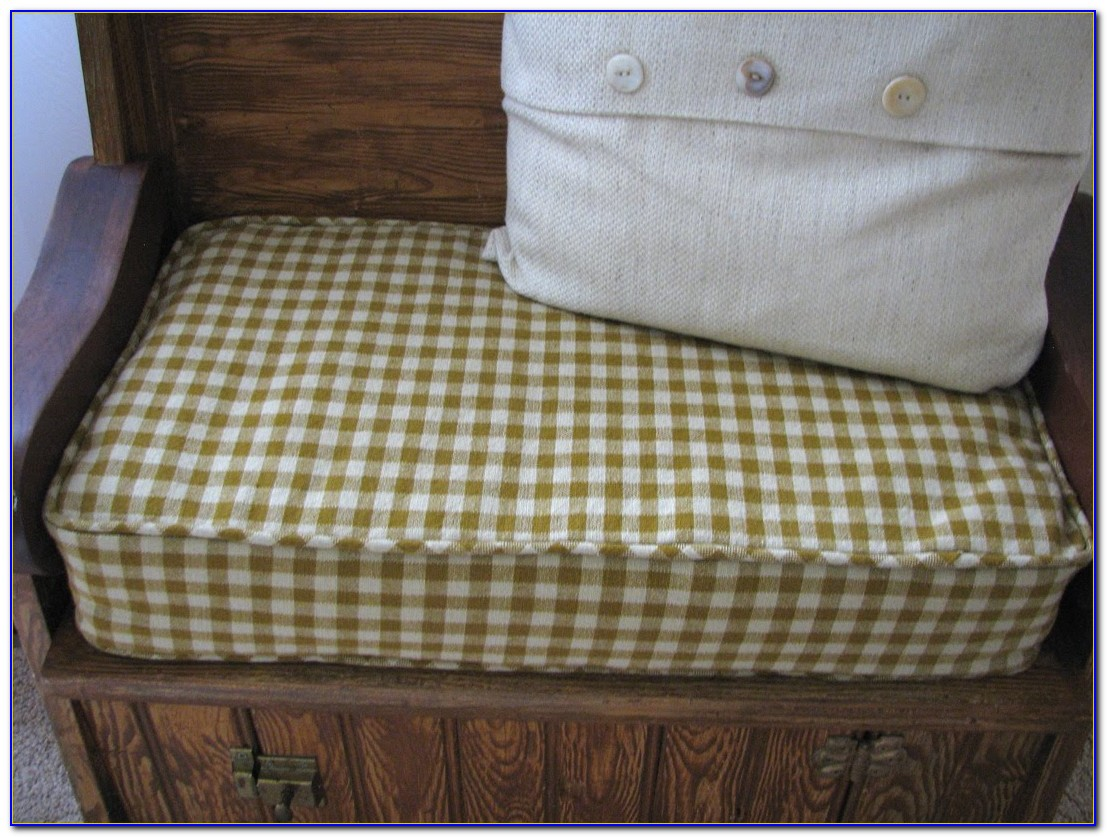 Bench Seat Cushion Pads