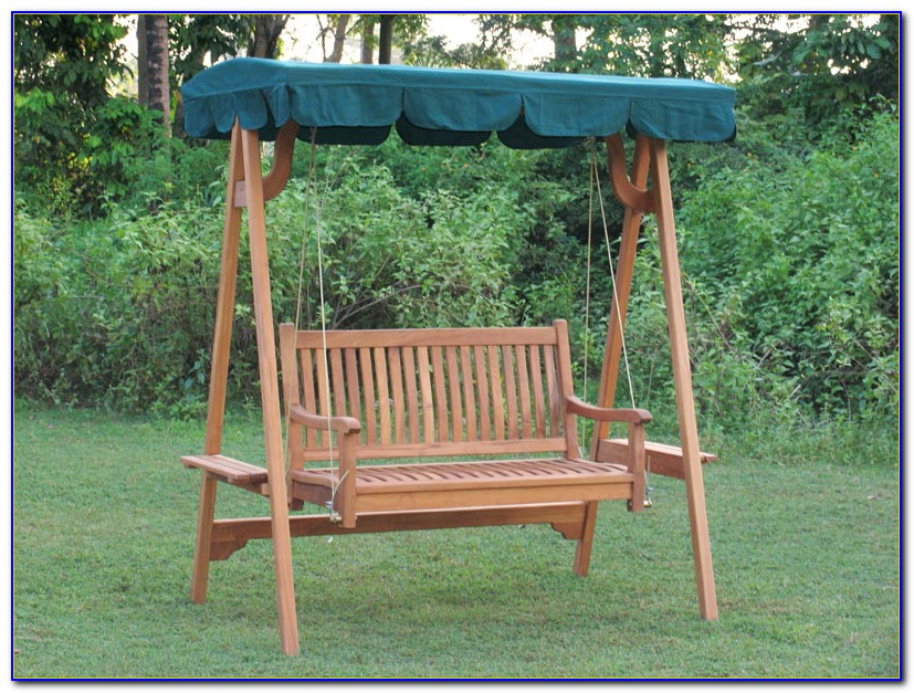 Bench Swing With Canopy