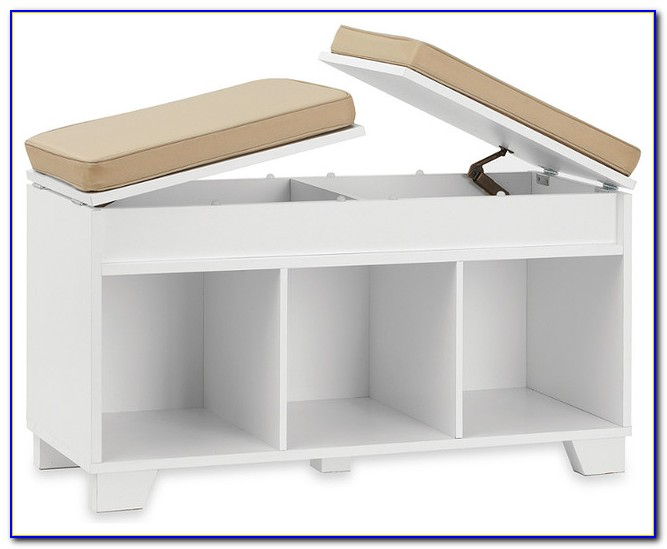 Bench With Storage Underneath