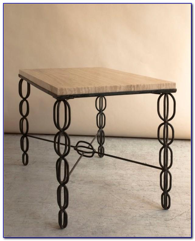 Black Wrought Iron Garden Bench