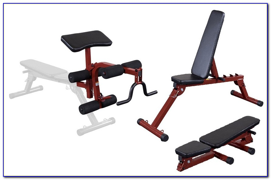 Body Solid Commercial Fid Bench