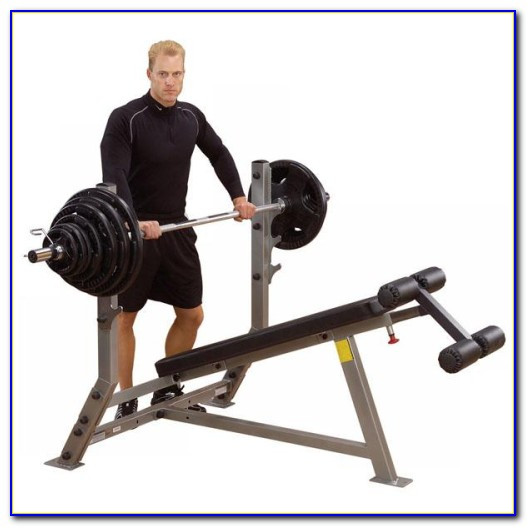 Body Solid Gdib46l Olympic Bench