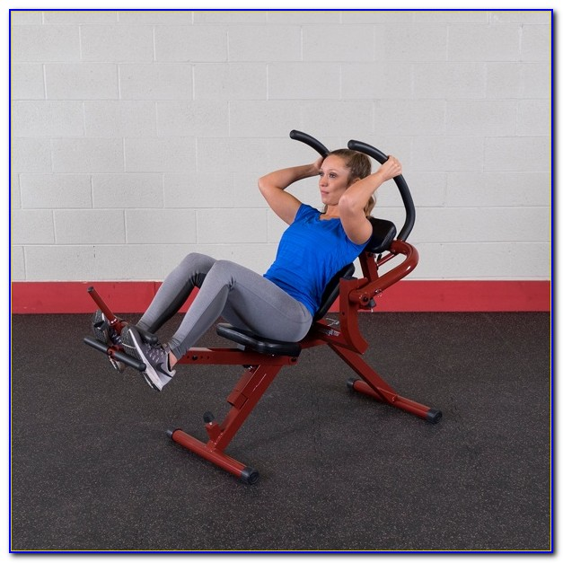 Body Solid Recumbent Ab Bench