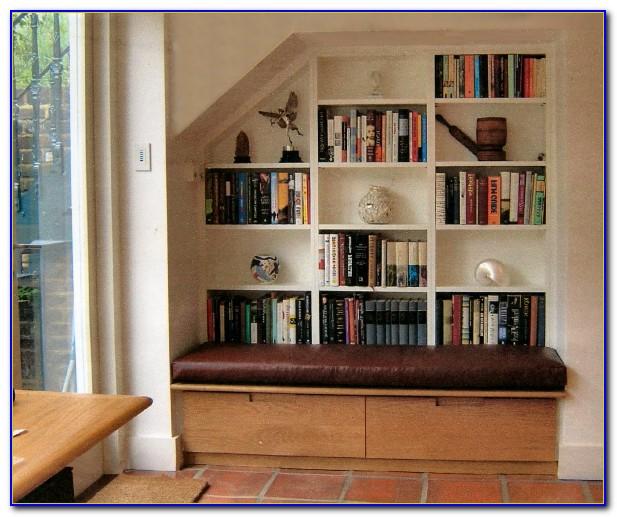 Bookshelf With Bench Seat