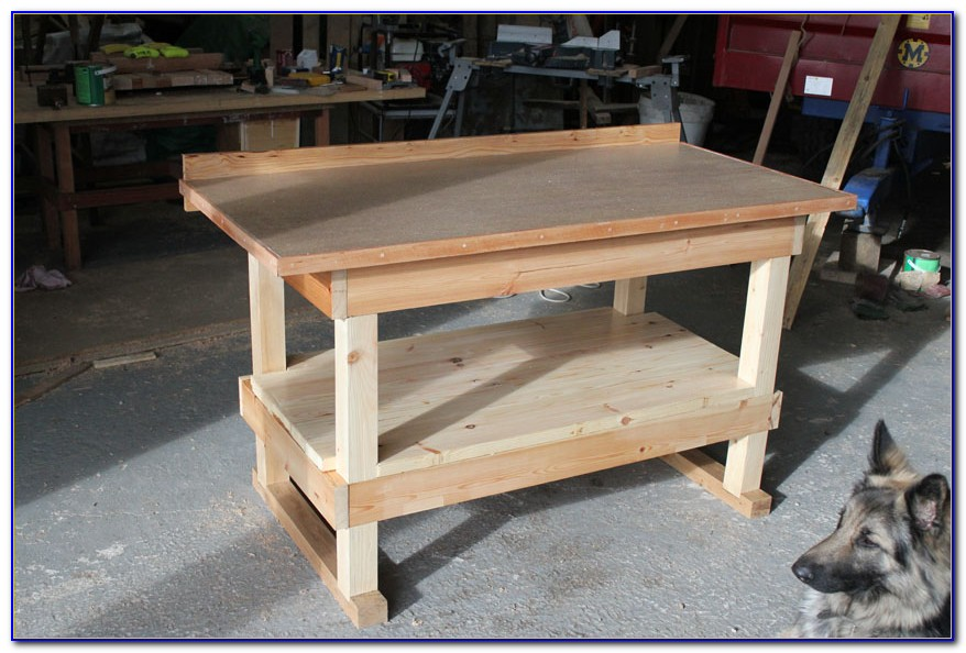 Build A Potters Bench