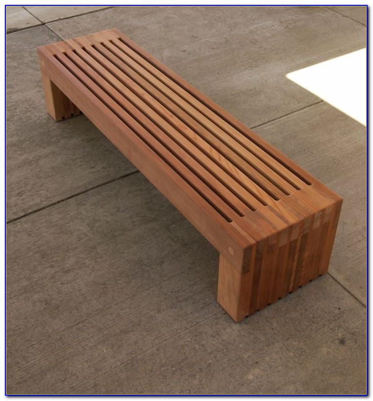 Build A Wood Bench Seat