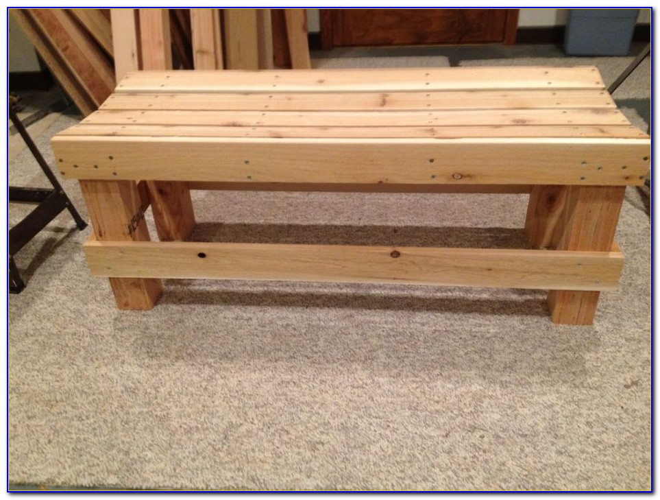 Build A Wood Workbench