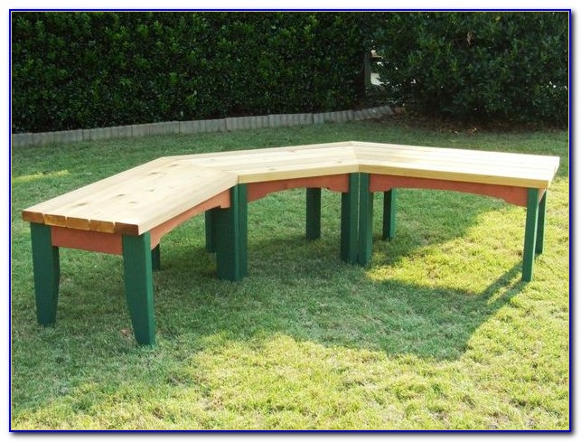 Build A Wooden Bench Swing
