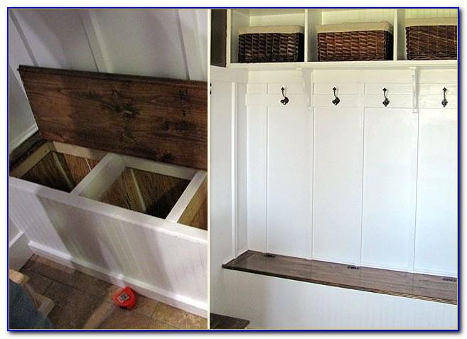 Build Entryway Bench Storage
