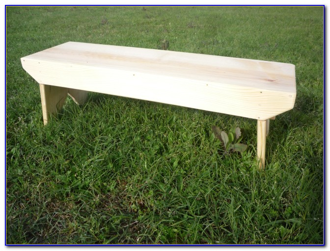 Build Wood Bench With Back