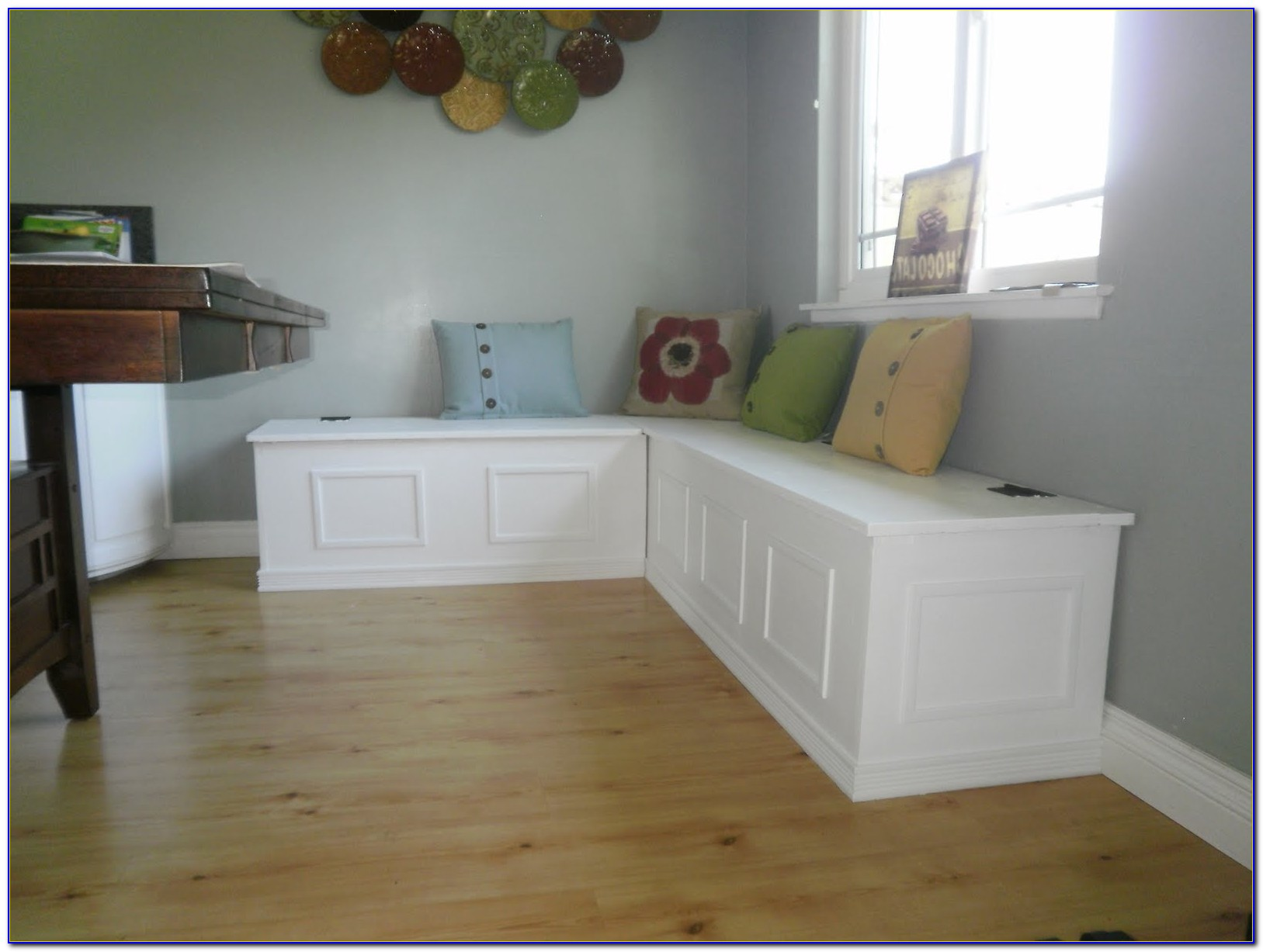 Building Bench Seating In Kitchen