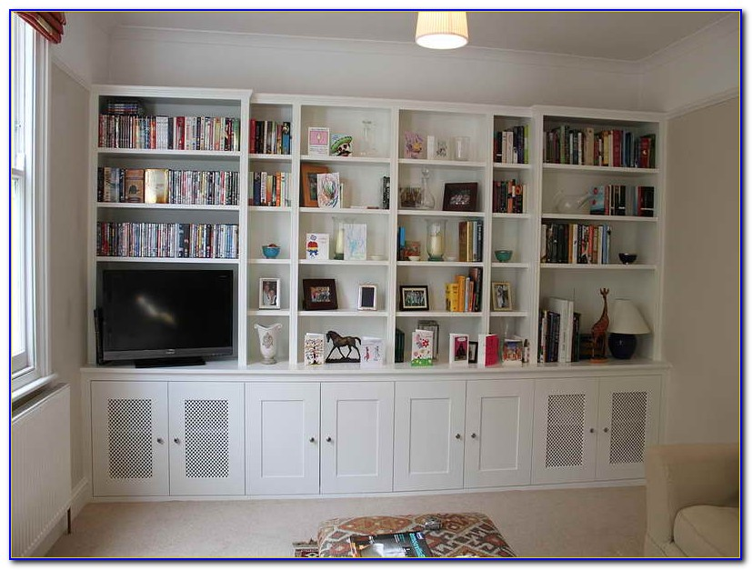 Built In Bookshelf Designs