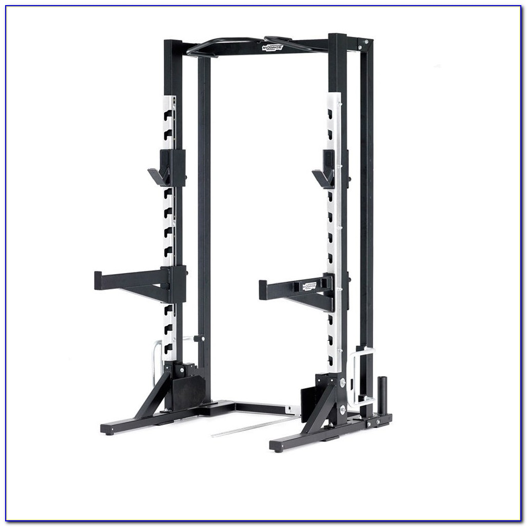 Cap Barbell Olympic Weight Bench With Squat Rack