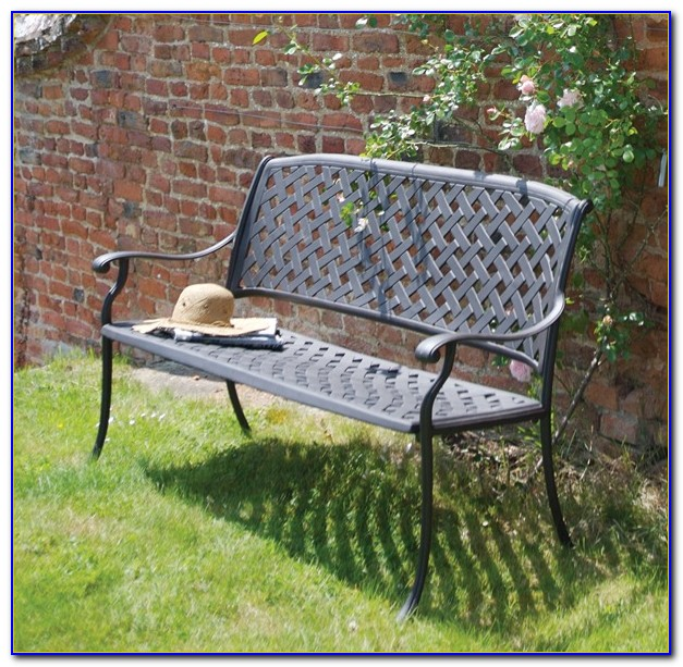 Cast Aluminum Outdoor Benches