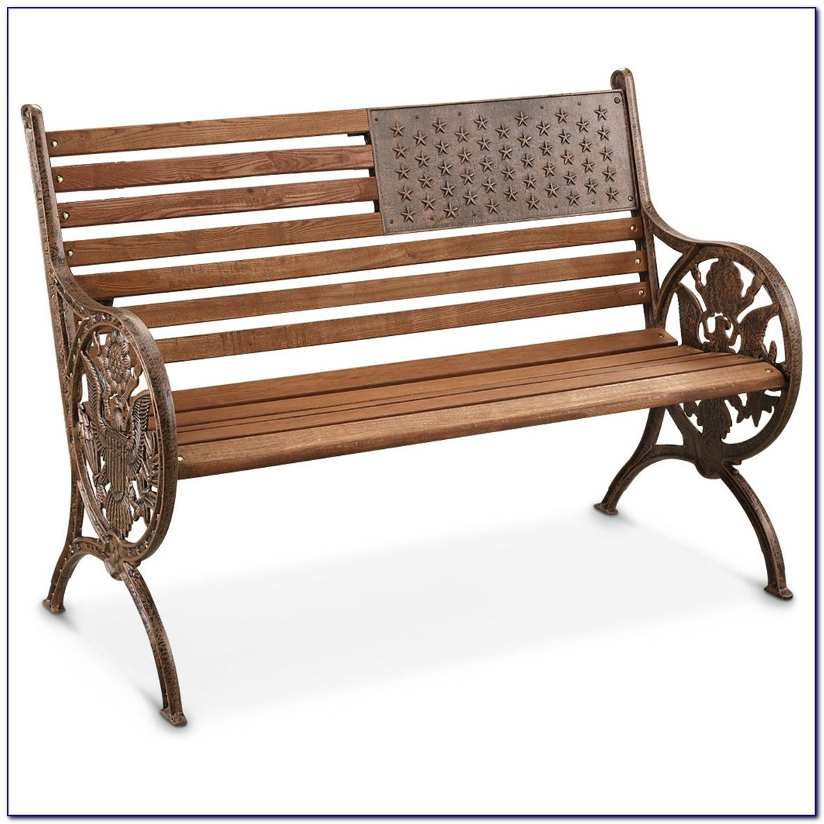 Cast Iron And Wood Bench Seats