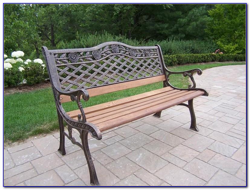 Cast Iron Garden Bench Restoration