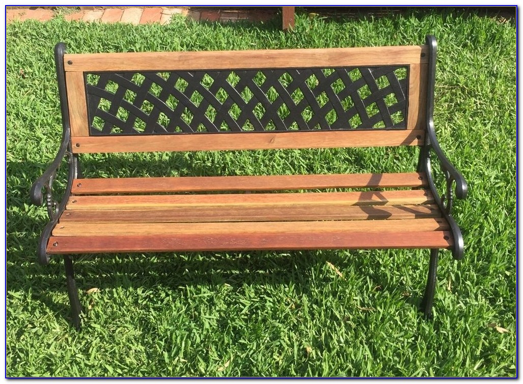 Cast Iron Outdoor Bench Seat