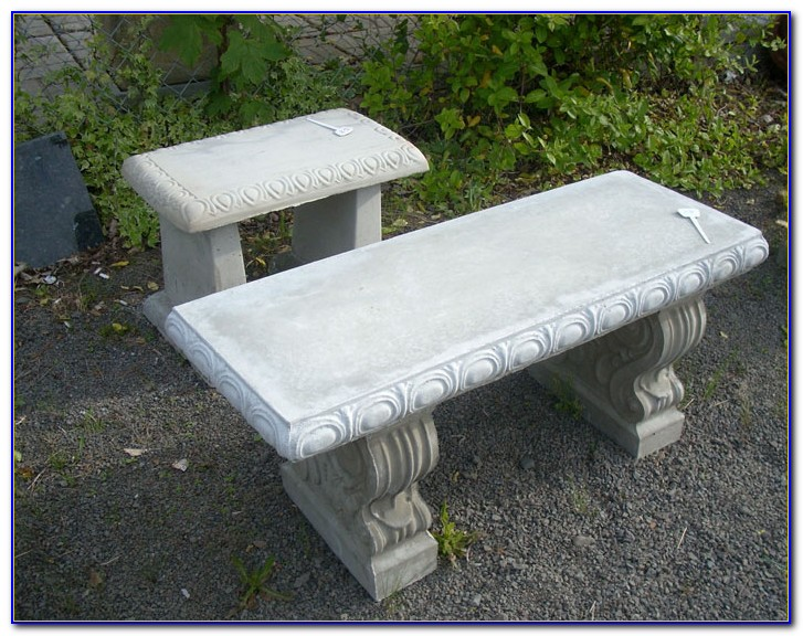 Cement Tables And Benches