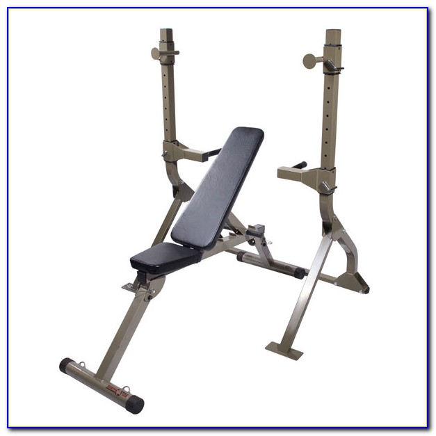 Combination Squat Rack Bench Press