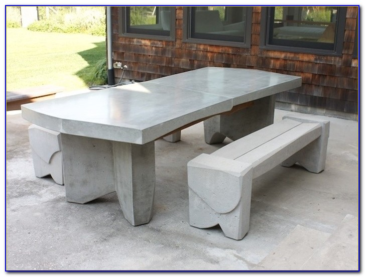 Concrete Table And Benches Port Elizabeth