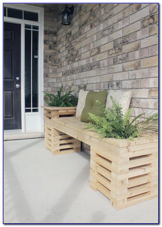 Corner Bench For Front Porch