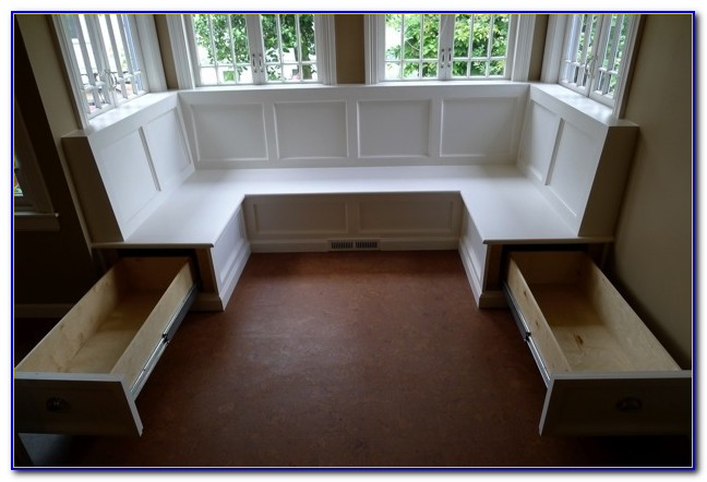 Corner Bench With Storage Entryway