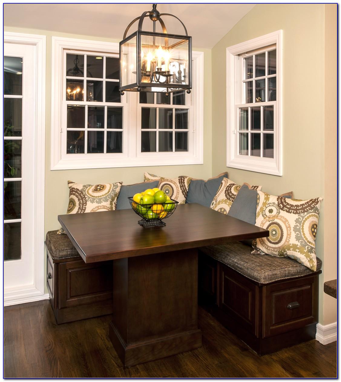 Corner Kitchen Table Set Benches