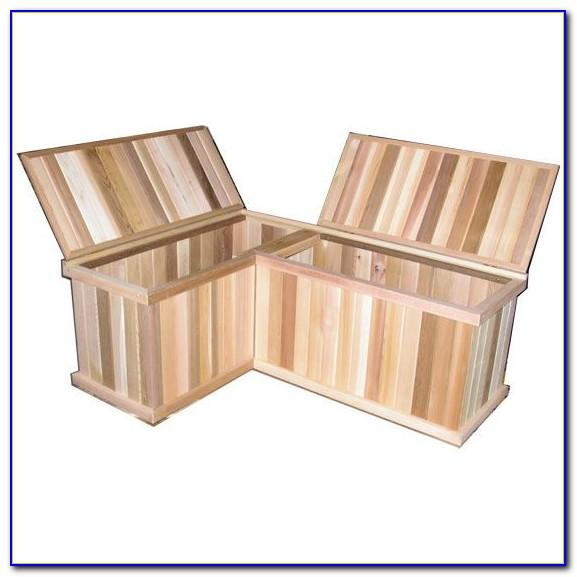 Corner Nook Bench With Storage