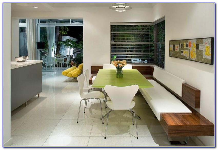 Curved Bench Seating Kitchen Table