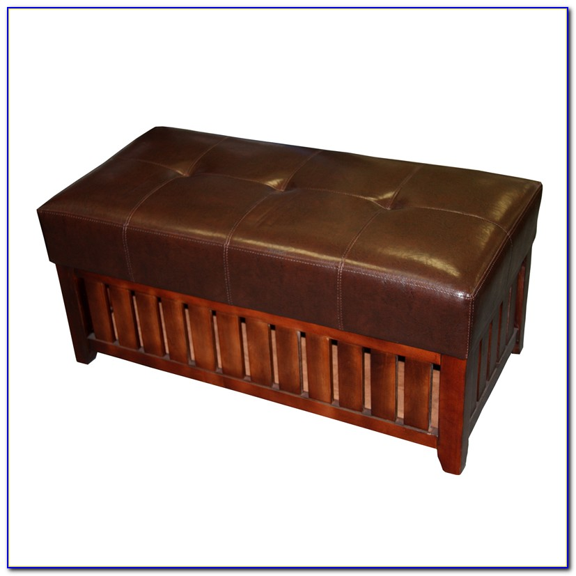 Cushioned Bench With File Storage