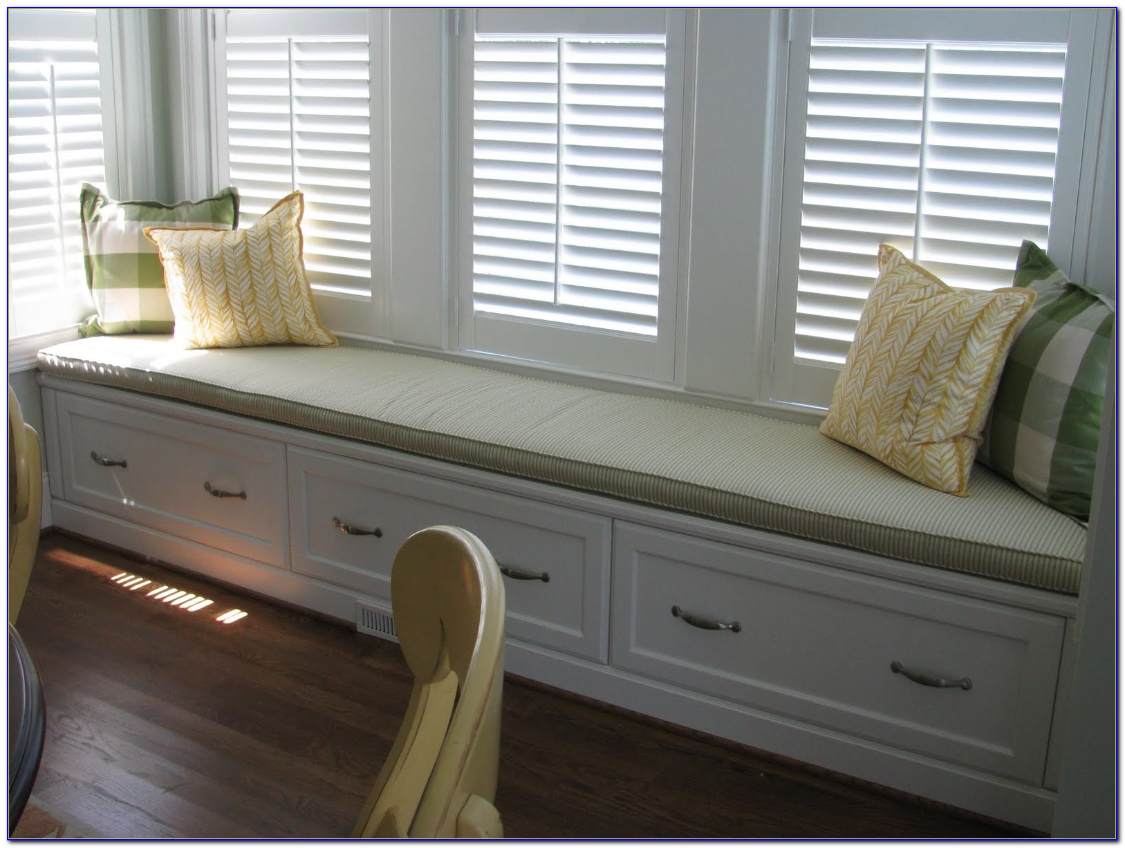 Custom Window Bench Seat Cushions