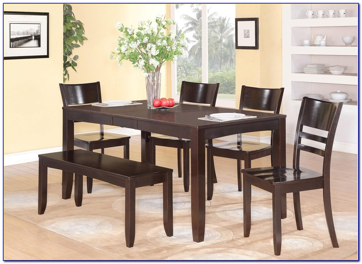 Dinette Sets With Bench Seating