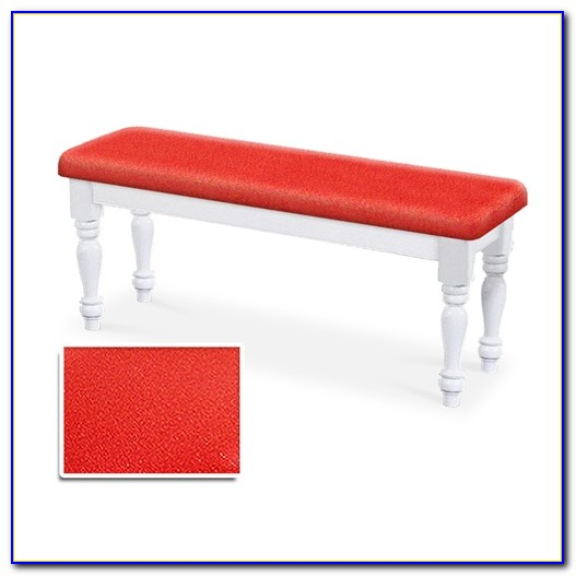Dining Bench Cushion Red