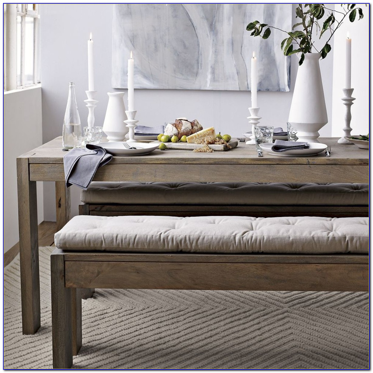 Dining Bench With Cushion