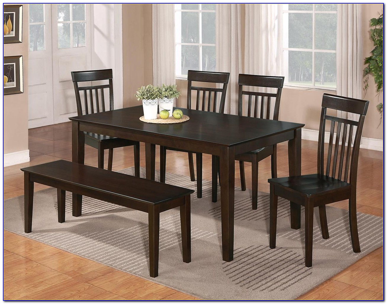 Dining Room Table Bench Dimensions