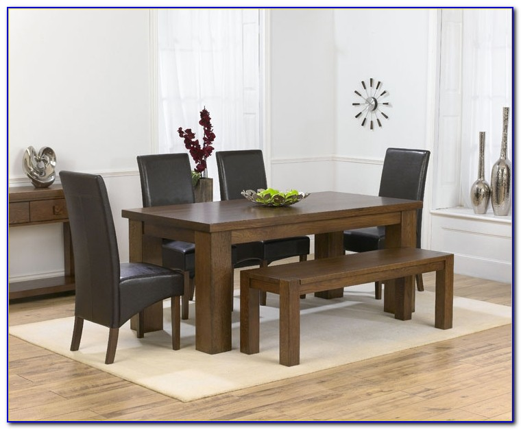 Dining Room Table With 4 Chairs And Bench