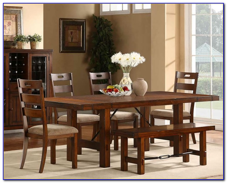 Dining Room Tables Bench One Side