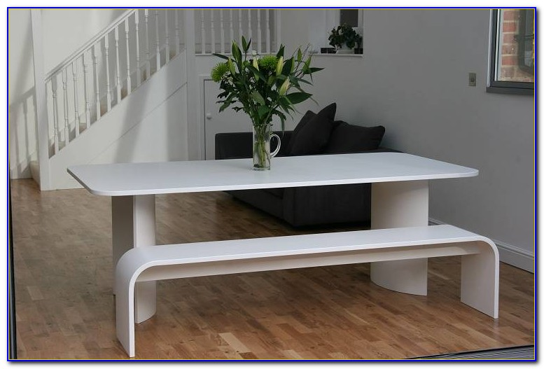 Dining Table Bench Style