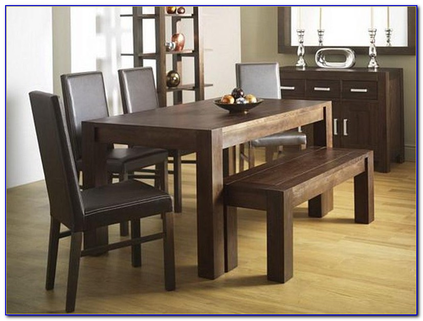 Dining Table With Bench Seat