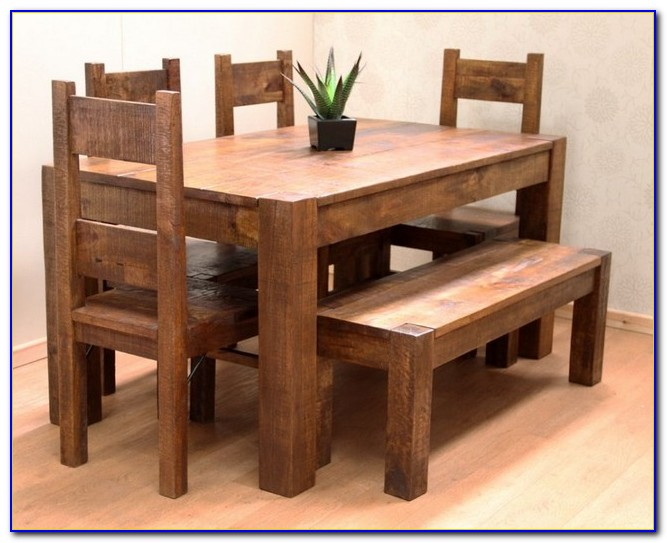 Dining Table With Bench Seats Uk