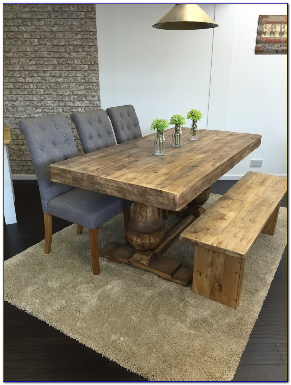 Dining Tables With Bench Seats Melbourne