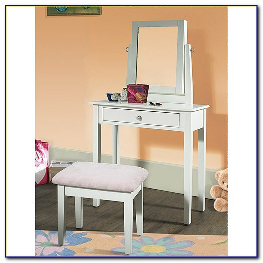 Disney Princess Vanity Set With Mirror And Bench